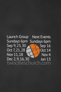 launch group next events iphone lock screen
